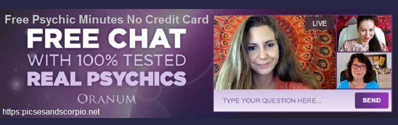 Free psychic minutes no credit card